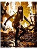 Malin Akerman as Silk Spectre II in Warner Bros. Pictures' 'Watchmen'