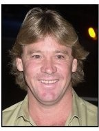 "Steve Irwin at the ""Master and Commander"" premiere"