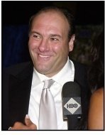 James Gandolfini at the HBO party following the 55th Annual Primetime Emmy Awards