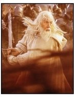 """The Lord of the Rings: The Return of the King"" Movie Still: Sir Ian McKellen"