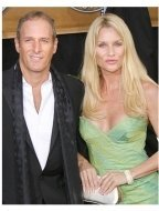 2006 SAG Awards Red Carpet: Michael Bolton and Nicollette Sheridan
