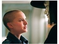 V for Vendetta Movie Stills: Natalie Portman and Hugo Weaving