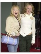 "Hilary Duff and Haylie Duff at the ""Bringing Down the House"" Premiere"