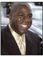 Magic Johnson at the 2001 Soul Train Music Awards
