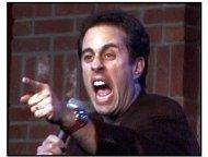"""Comedian movie still: Jerry Seinfeld in """"Comedian"""""""
