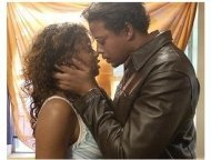 Taraji Henson and Terrence Dashon Howard Paramount Classics' 'Hustle & Flow'