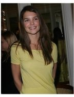 Katie Holmes at the <I> In Style </I> Magazine Luncheon