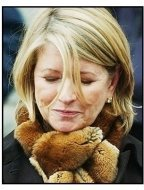 Martha Stewart leaves the Manhattan Federal court after being found guilty-USE ONLY TILL APRIL 5, 2004