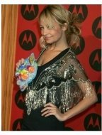 Nicole Richie at the 2004 Motorola Holiday Party