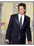 Rob Lowe backstage at the 2002 SAG Screen Actors Guild Awards