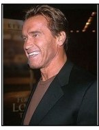 """Arnold Schwarzenegger at the """"For Love of the Game"""" Premiere"""