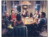 """Dickie Roberts: Former Child Star"" Movie Still: David Spade, Dustin Diamond, Corey Feldman, Danny Bonaduce, Barry Williams and Leif Garrett"