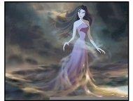 """""""Sinbad: Legend of The Seven Seas"""" Movie Still: Eris (Michelle Pfeiffer)"""