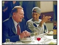 How High movie still Jeffrey Jones as Vice President and Redman as Jamal