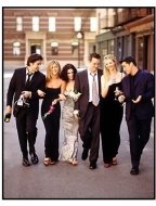 NBC tv series Friends Cast Photo