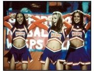 Not Another Teen Movie movie still: Jaime Pressly and the cheerleaders