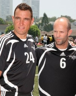Vinnie Jones and Jason Statham