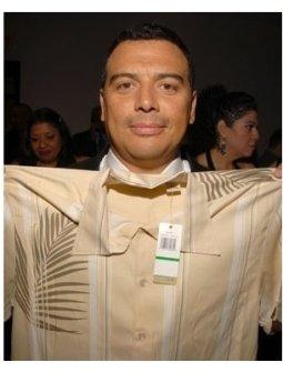 Carlos Mencia at the ALMA Awards Gift Lounge