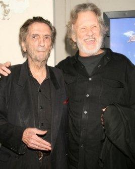 Harry Dean Stanton and Kris Kristofferson