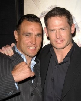 Vinnie Jones and Scott Wiper