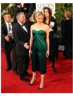 64th Annual Golden Globes Awards Red Carpet: Renee Zellweger
