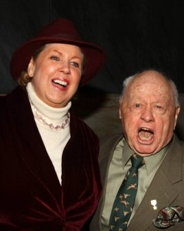 Jan Rooney and Mickey Rooney