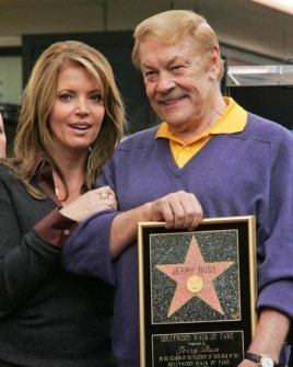 Jeanie Buss and Jerry Buss