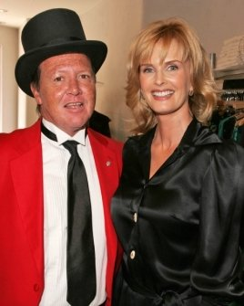 Kylie Bax and the Beverly Hills Town Cryer
