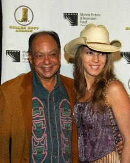 Cheech Marin and wife Patti