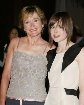 Ellen Page and her mother