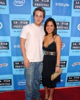 Shawn Pyfrom and friend