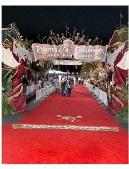 Red Carpet Premiere held at Disneyland