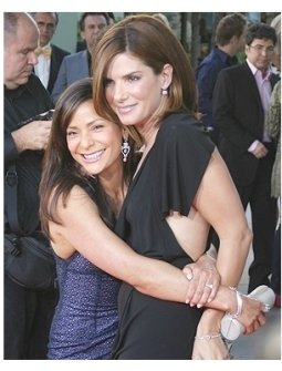 Constance Marie and Sandra Bullock