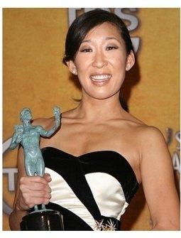 2006 SAG Awards Press Room: Sandra Oh