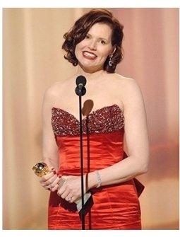 63rd Golden Globes Stage Photos: Geena Davis