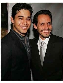 Wilmer Valderrama and Marc Anthony