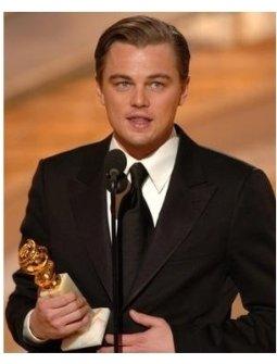 Leonardo DiCaprio at the 62nd Golden Globe Awards