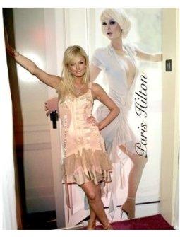 Paris Hilton at the Paris Hilton Fragrance Launch Party