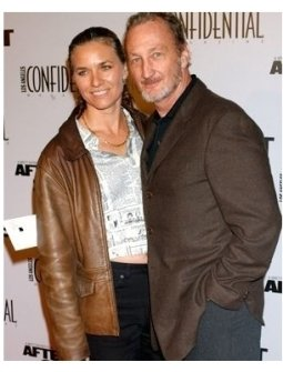 Robert Englund and date at the After the Sunset Premiere