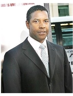 "Denzel Washington at ""The Manchurian Candidate"" Premiere"