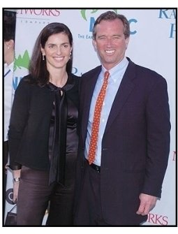 "Robert F. Kennedy Jr. and date at the NRDC's ""Earth to L.A.!-The Greatest Show on Earth"" Benefit"