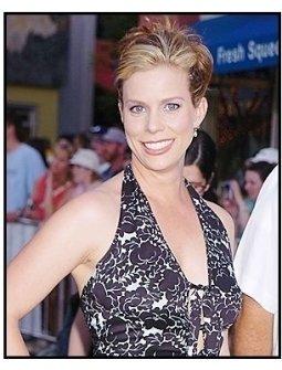 """Cheryl Hines at the premiere of """"Van Helsing"""""""