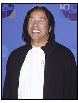"""Smokey Robinson backstage at the ABC Television Network Special,  """"Motown 45"""""""