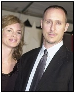 "Director Gavin O'Connor and date at the ""Miracle"" premiere"