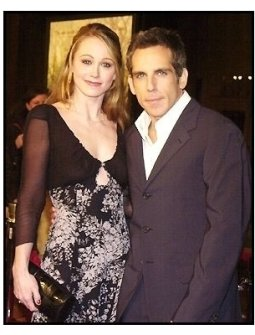 "Ben Stiller and wife Christine Taylor at the ""Along Came Polly"" Premiere"
