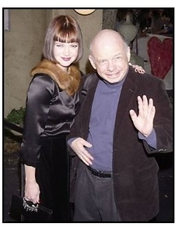 """Dina Waters and Wallace Shawn at """"The Haunted Mansion"""" Premiere"""