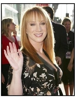 "ONE TIME USE ONLY:  Kathy Griffin at the ""Uptown Girls"" premiere"