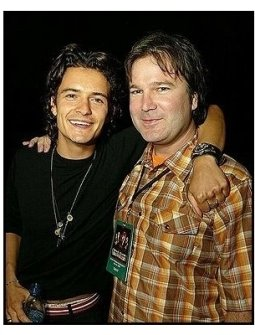 """ONE TIME USE ONLY: Orlando Bloom and Gore Verbinski at the """"Pirates of the Caribbean: The Curse of the Black Pearl"""" World Premiere"""