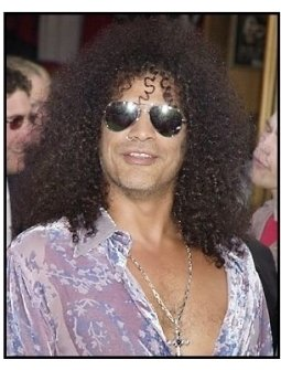 Slash at the premiere of The Hulk