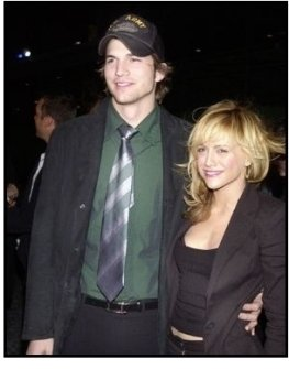 """Ashton Kutcher and Brittany Murphy at the """"Spun"""" Premiere"""